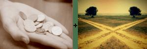 Снятие порчи с помощью монет