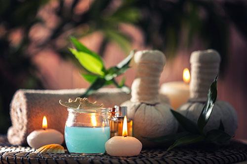 Свечи с эфирными маслами