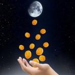 Ритуал в полнолуние на привлечение денег